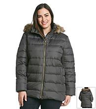 MICHAEL Michael Kors® Plus Size Zipfront Coat