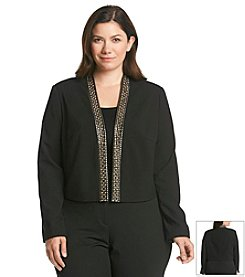 Calvin Klein Studded Placket Jacket