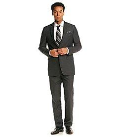 Tallia® Orange Men's Black & White Pin Dot Suit Separate