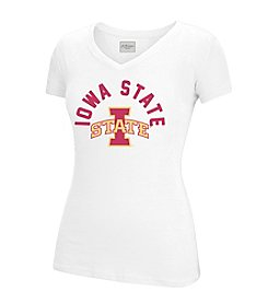 J. America® Women's Iowa State University Opaque Logo Short Sleeve Tee