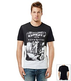 Buffalo by David Bitton Men's Colorblock Jersey Short Sleeve Tee