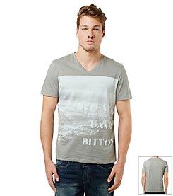 Buffalo by David Bitton Men's Jersey Short Sleeve V-neck