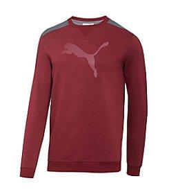 PUMA® Men's Crewneck French Terry Sweatshirt