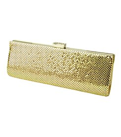 Jessica McClintock® Metal Mesh Slim Clutch