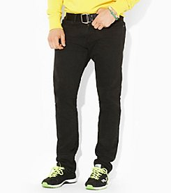 Polo Ralph Lauren® Hampton Straight Fit Hudson Black Jean