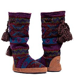 MUK LUKS Emma Vintage Jewels Slipper Boots