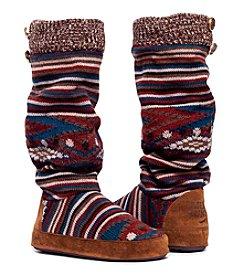 MUK LUKS Angie Vintage Jewels Slipper Boots