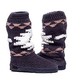 MUK LUKS Vanessa Cuff Slipper Boots