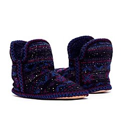 MUK LUKS Amira Sprinkled Short Slippers