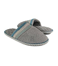 MUK LUKS Cathy Micro Chenille Closed Toe Slippers