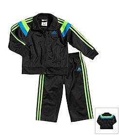 adidas® Baby Boys' Anthem Tricot Jacket Set
