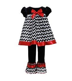 Bonnie Jean® Baby Girls' Chevron Leggings Set