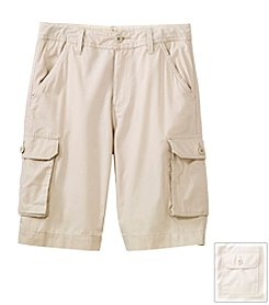 Ruff Hewn Boys' 8-16 Solid Cargo Shorts