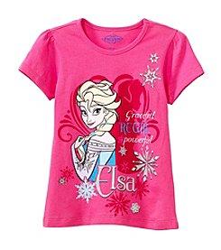 Nannette® Girls' 7-12 Short Sleeve Elsa Tee