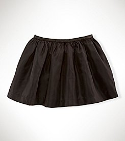 Ralph Lauren Childrenswear Girls' 2T-6X Taffeta Soild Skirt