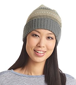 Ruff Hewn Striped Spacedye Cuffed Beanie