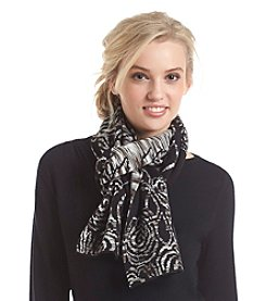 Relativity® Floral Jacquard Scarf