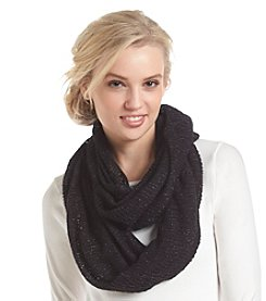Relativity® Metallic Infinity Loop Scarf