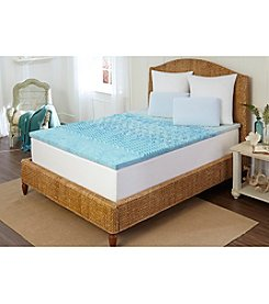 Tempure Rest™ Marbleized Gel 5-Zone Mattress Topper