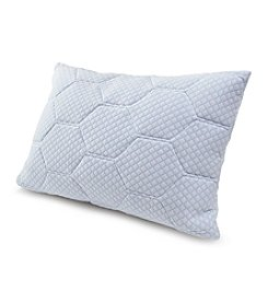 Tempur Rest™ Cooling Gel Reversible Memory Foam Loft Pillow