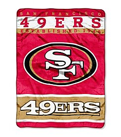 San Francisco 49ers 12th Man Raschel Throw