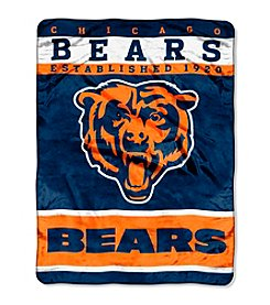 Chicago Bears 12th Man Raschel Throw