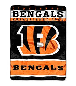Cincinnati Bengals 12th Man Raschel Throw
