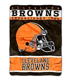 Cleveland Browns 12th Man Raschel Throw