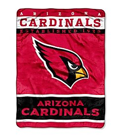 Arizona Cardinals 12th Man Raschel Throw