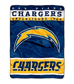 San Diego Chargers 12th Man Raschel Throw
