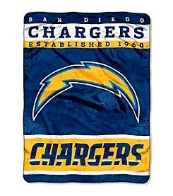 San Diego Chargers 12th Man Raschel Throw