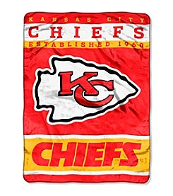 Kansas City Chiefs 12th Man Raschel Throw