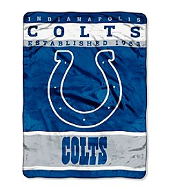 Indianapolis Colts 12th Man Raschel Throw