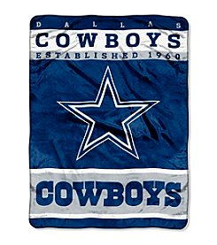 Dallas Cowboys 12th Man Raschel Throw