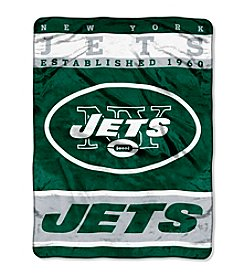 New York Jets 12th Man Raschel Throw