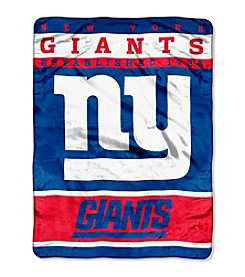 New York Giants 12th Man Raschel Throw