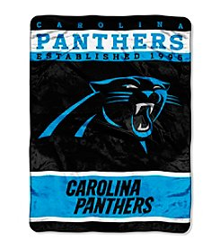 Carolina Panthers 12th Man Raschel Throw