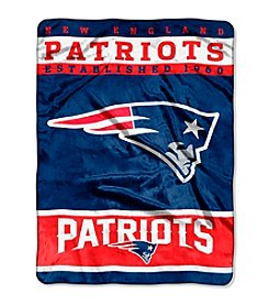New England Patriots 12th Man Raschel Throw