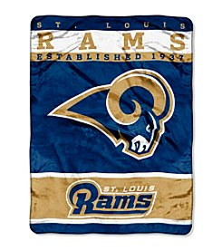 St. Louis Rams 12th Man Raschel Throw