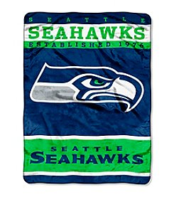 Seattle Seahawks 12th Man Raschel Throw