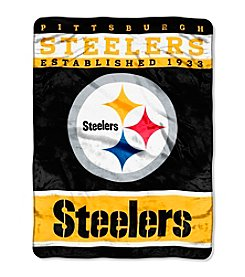 Pittsburgh Steelers 12th Man Raschel Throw