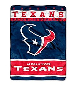 Houston Texans 12th Man Raschel Throw