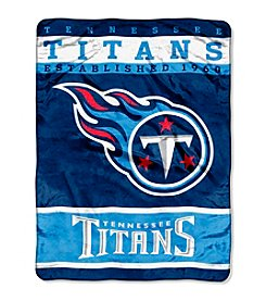 Tennessee Titans 12th Man Raschel Throw
