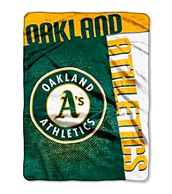 Oakland Athletics Strike Raschel Throw