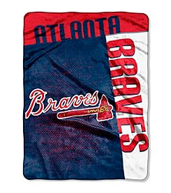 MLB® Atlanta Braves Strike Raschel Throw