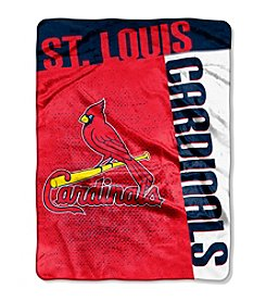 St. Louis Cardinals Strike Raschel Throw