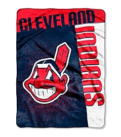 MLB® Cleveland Indians Strike Raschel Throw