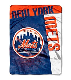 MLB® New York Mets Strike Raschel Throw