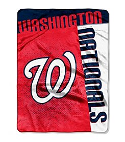 MLB® Washington Nationals Strike Raschel Throw
