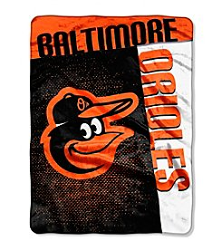 Baltimore Orioles Strike Raschel Throw